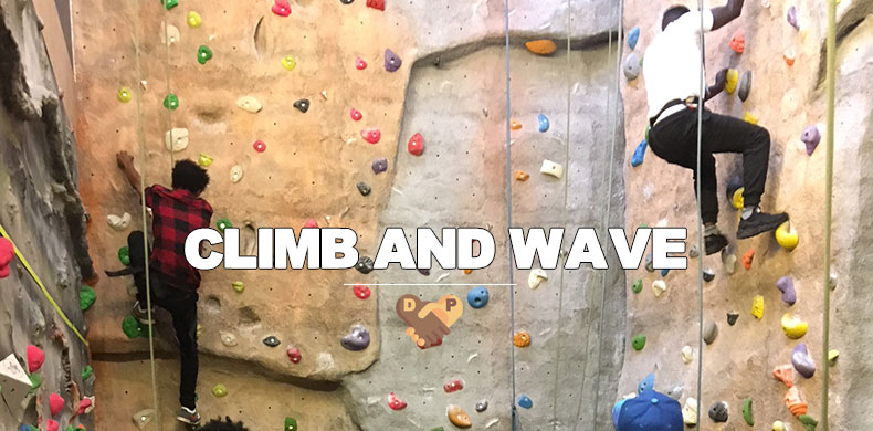 Climb And Wave